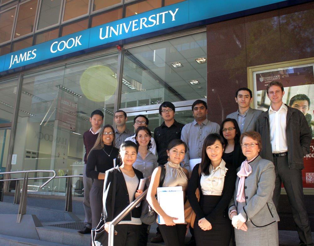 澳洲留學 商學碩士課程 Master of Business Jamse Cook University 詹姆士庫克大學
