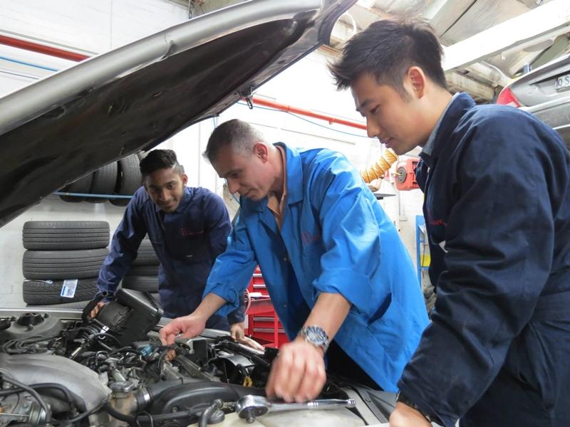 澳洲遊學 澳洲讀書 澳洲學技術 墨爾本 專科學校 Baxter Institute Automotive 3