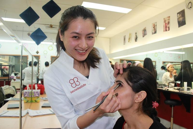 澳洲遊學 澳洲讀書 澳洲學技術 墨爾本 專科學校 Baxter Institute Beauty 4