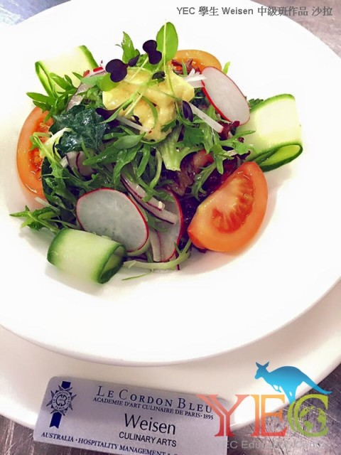澳洲留學 澳洲遊學 廚藝學校 法國藍帶 廚藝學院 Le Cordon Bleu 料理課程 甜點課程