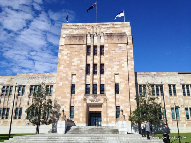 UQ 昆士蘭大學