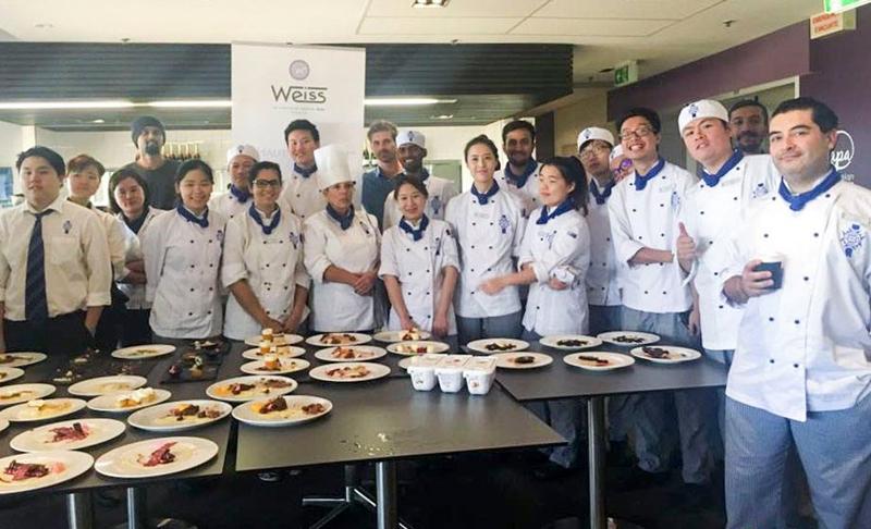 澳洲留學 – 料理Cuisine與甜點Pâtisserie課程!
