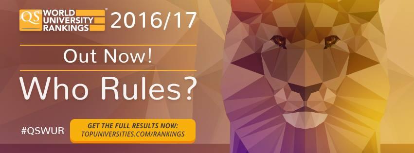 2016/17 最新QS世界大學排名