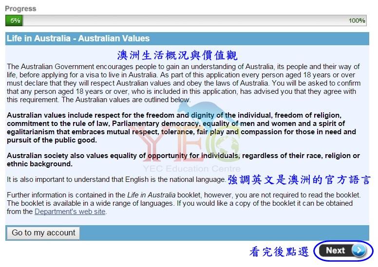 澳洲打工度假簽證 申請教學 63