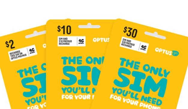 如何自己開通Optus澳洲門號
