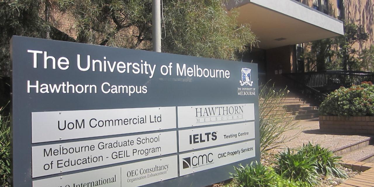 墨爾本英語遊學方案精選—墨爾本大學附設語言中心(霍桑英語學院)Hawthorn Melbourne