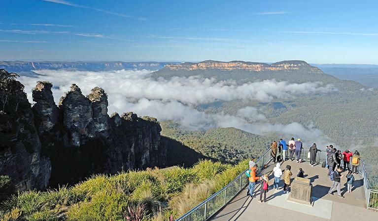 世界著名自然遺產-藍山國家公園【Blue Mountains National Park】