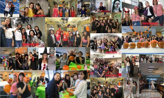 澳洲遊學 Halloween Party