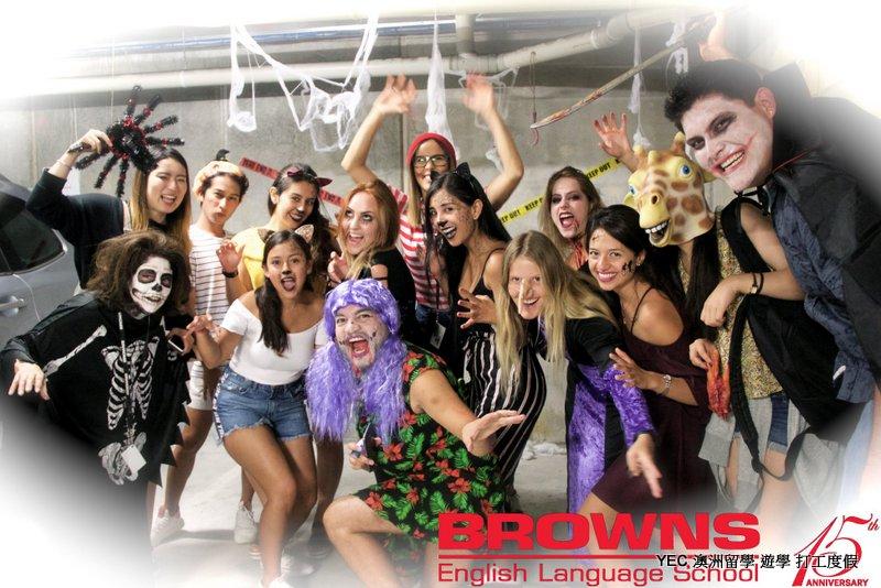 澳洲遊學 Browns Halloween