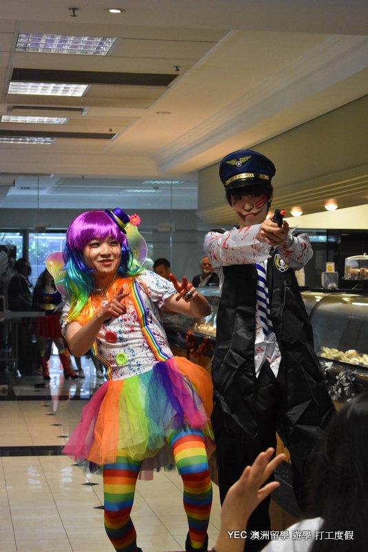 澳洲遊學 Shafston Halloween Party