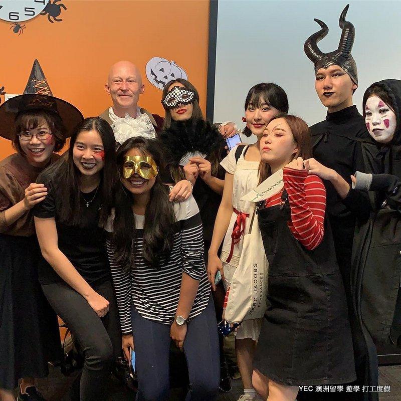 澳洲遊學 ILSC Halloween