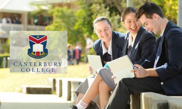 Canterbury College 現正邀請國際學生體驗澳洲學生生活!