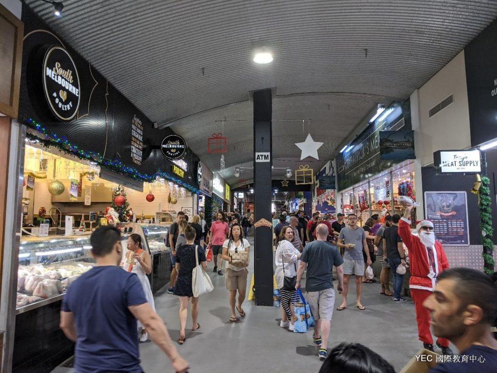 澳洲遊學 墨大遊學 South Melbourne Market