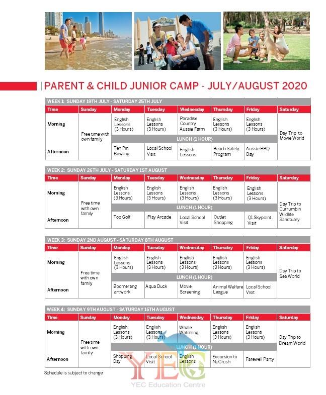 澳洲遊學 親子遊學 2020 暑假遊學3